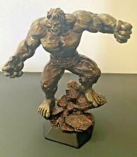HULK RESIN STATUE, Bronze Finish, COA, Marvel Comics! Never Displayed!