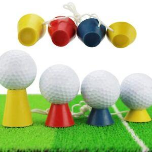 Tee Rubber Ball Holder Golfer Ball Rack 4Height Training Holder Golfing Practice
