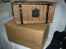 Harrods Traditional Gift Hamper Basket with original packaging  - 46cm MEDIUM