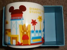 RETIRED Disney World STARBUCKS Mug HOLLYWOOD STUDIOS You Are Here Parks OOP RARE