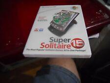 Handmark Super Solitaire 15 Virtual Card Games CD Rom For PC Or palm no retudn
