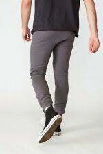 Factorie Mens Tech Track Pant Fleece Bottoms  In  Grey