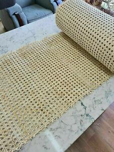 450mm wide Rustic Rattan Cane Webbing Panels for Furniture Restoration NOT PE