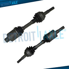 Pair Front Cv Axle Shaft Assembly for 2002 2003 2004 2005 2006 2007 Jeep Liberty
