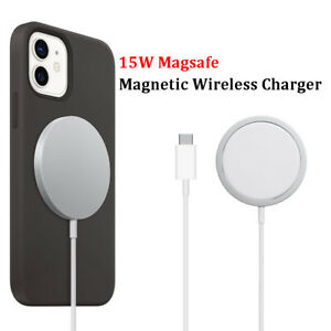 15W Wireless Charger Fast Charge Pad Magnetic For Samsung iPhone 12 Pro Max 11 8