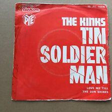 THE KINKS tin soldier man - French SP 45t BIEM (7')  BEAT ROCK
