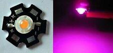 Hi-Power LED 3W VollSpektrum 380-840nm auf Kühlplatine STAR