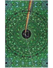 Handmade 100% Cotton 3D Pink Floyd Tapestry Tablecloth Spread Beach 60x90 Green