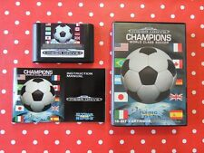 Champions World Class Soccer Sega Mega Drive in OVP mit Anleitung