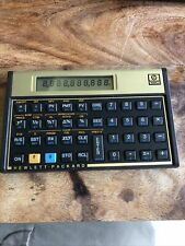 Calculatrice 12c Hewlett Packard