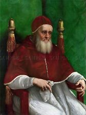 RAPHAEL POPE JULIUS II OLD MASTER PAINTING PRINT POSTER 2604OMLV