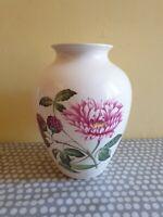 Large Spode England Vase With Floral Decoration
