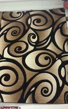 5' x 8' Sculpture Swirl Pattern Rug