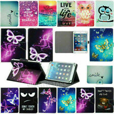 """Universal Adjustable Leather Case Cover Protection For Samsung Tab A 2 3 7""""IN US"""