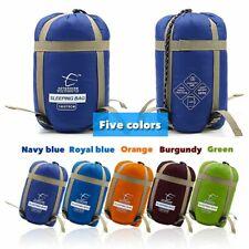 Sleeping Bag Portable Waterproof Nylon Anti Tear Fabric Camping Hiking Equipment