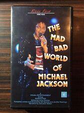VHS Video The Mad Bad World Of Michael Jackson Rare