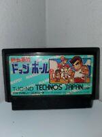 Nekketsu Koukou Dodgeball Bu Famicom Japan NTSC-J Tecnos Kunio Kun US SELLER