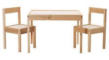 Ikea Lätt tavolo per Bambini Set con 2 sedie Mobili Arredamento Incl. spedizioni