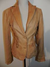Belle Veste GUESS Cuir coat leather vestido vera pella très vintage