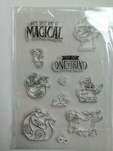 Stempel Set Zauberer Meerjungfrau