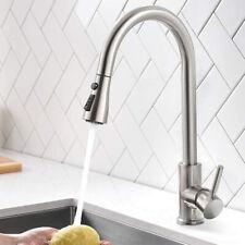 Miscelatore rubinetto cucina con doccetta 360° estraibile monocomando lavello