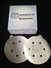 HAMACH Schleifscheiben -50 Stk.-Economic Stickup (klebend) ∅ 150mm P150, 6 Loch