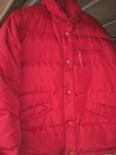 Guess Red Quilted Down Jacket Coat Ladies M
