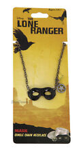 New Disney The Lone Ranger Movie Mask Single Chain Necklace Texas Ranger Jewelry