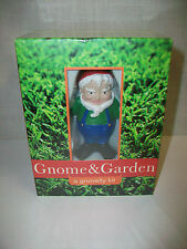 Nip Gnome & Garden Gnovelty Kit by Quirk Figurine Book plus more