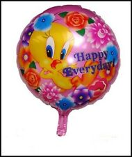 """helium balloon 18"""" HAPPY EVERY DAY  round foil birthday celebrations,party,kids"""