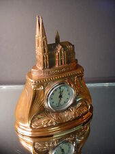 Rare Souvenir Building Clock Cologne Cathedral Germany Dom Zu Koln Art Deco