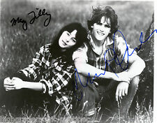 """MEG TILLY & MATT DILLON  DUAL AUTOGRAPHED SIGNED 8X10 FROM THE 1982 FILM """"TEX"""""""