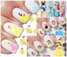 Nail Art Water Transfer Sticker-PRINCIPESSA Disney-TOPOLINO- Paperino-BUY 3 GET4