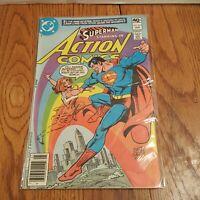 Action Comics #503 -Hand Signed Curt Swan - Superman DC Comics January 1980