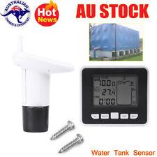 Ultrasonic Water Tank Level Meter Rang 0~15m with Thermo Sensor indicator AU 1PC