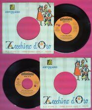 LP 45 7'' ZECCHINO D'ORO La torre degli asinelli Sette ANTONIANO no cd mc dvd