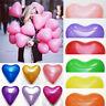 10pcs ballon ''latex'' cœur de différentes couleur (Hélium) fête, anniversaire