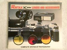 Asahi Pentax Vintage 1975 KC Series Lens & Accessories Guide & Catalog