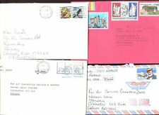 USA 1989,  4 Commercial Covers #C47960