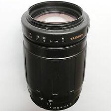 Pentax K-AF mount Tamron 100-300mm f/5-6.3 full-frame macro zoom. Excellent!