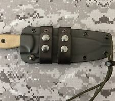 ESEE CM6 Leather Scout Carry Straps (knife & Sheath Not Included)