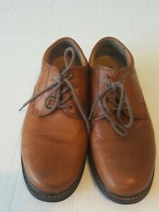 Dockers Landon Stain Defender Brown Leather Casual Shoes size 8-12