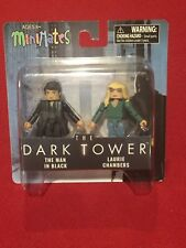The Dark Tower MiniMates Mini Figures The Man in Black Laurie Chambers NEW MIP