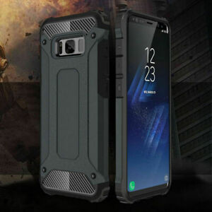 Hard Armor Case For Samsung Galaxy S7 S8 S9 Plus Edge Note 8 Bumper Tough Cover
