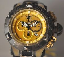 NEU Herren Invicta 18178 Subaqua Noma V Chronograph Gold Ton MOP Zifferblatt Uhr