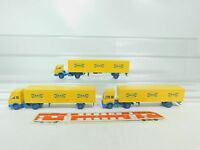 BN71-0,5# 3x Wiking H0/1:87 Sattelzug/LKW Mercedes-Benz/MB Ikea, TOP