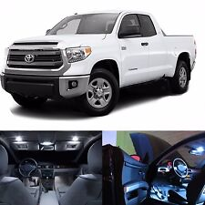 LED White Lights Interior License Package Kit For Toyota Tundra 2008-2015+