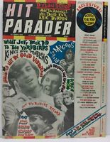 Hit Parader Magazine Back Issue April 1967 Jeff Beck Kinks FR