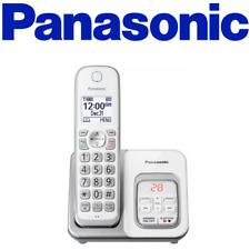 Panasonic Kx-Tgd530W Cordless Phone Call Block Answering Machine Handset