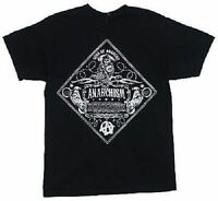 Sons Of Anarchy Soa Anarchism Biker Club Motorcycle Goth Rock T Tee Shirt S-3Xl